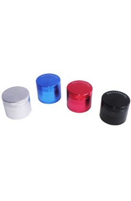 Grinder Secret Smoke 40 mm 4 Partes (negro,azul,rojo,plata)