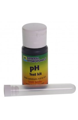 PH TEST KIT 30 ml - GENERAL HIDROPONICS