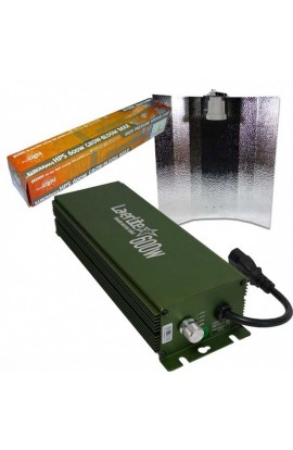 KIT 600W LAZERLITE + REFLECTOR STUCO + PURE LIGHT HPS 600 W GROW-BLOOM MAX