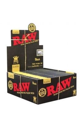 PAPEL DE LIAR RAW BLACK KING SIZE