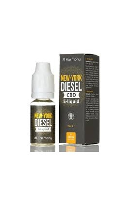 HARMONY - NEW YORK DIESEL E-LIQUID CBD 10 ML