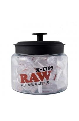 Boquilla Cristal Raw Xtips Grande Plana