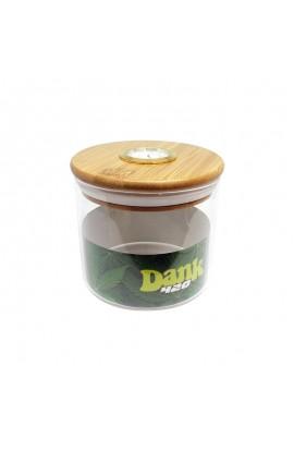 Tarro de Vidrio con Higrómetro Dank 420 - 95x90mm