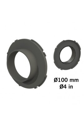 """CONECTOR """"DUCTING FLANGE"""" 100MM"""
