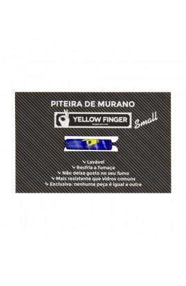 BOQUILLA DE MURANO PEQUEÑA YELLOW FINGER