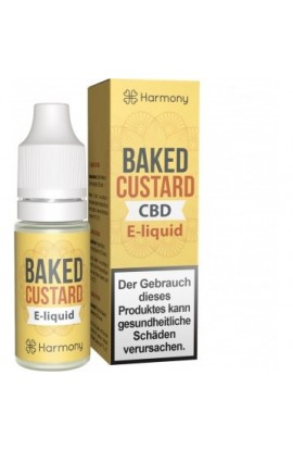 HARMONY E-LIQUID BAKED CUSTARD 10 ML