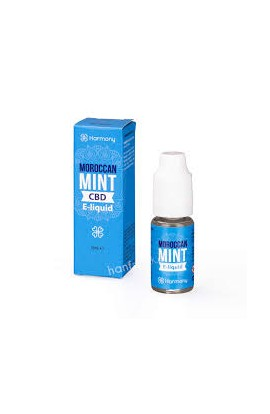 HARMONY - MOROCCAN MINT - E-LIQUID CBD 10 ML
