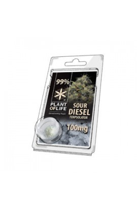 Terpsolator 99% CBD Sour Diesel 100MG Y 0.5 G