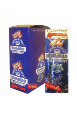 BLUNT HEMPARILLO BLUEBERRY (ARANDANOS) 4 BLUNTS